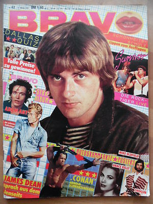 BRAVO 43 - 1982 (3) Mike Oldfield Adam Ant James Dean Grace Kelly R. Chamberlain