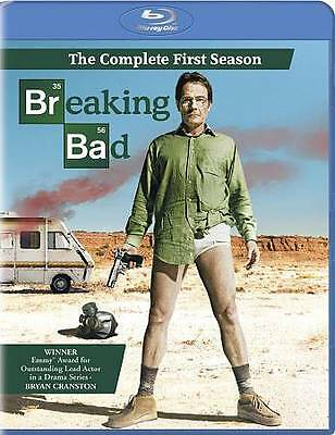 BREAKING BAD: The Complete First Season (Blu-ray Disc, 2010, 2-Disc Set) NEW
