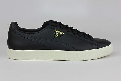 2fcdf79d8e2 Puma Clyde Natural Black 363617-01 Mens Shoes Size   Brand New Men Ds