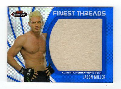 Jason Miller 2012 Finest Ufc Finest Threads Jumbo Fighter Relics X-Fractors