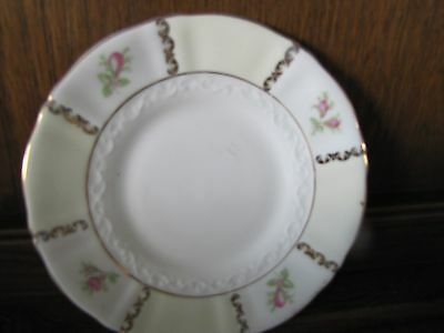 Fine Bone China Old Royal~Rose Panel~1X16cms Tea/Side Plate