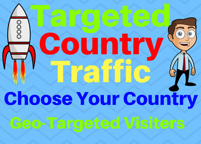 UNLIMITED Targeted Country Geo Web Traffic Real Humans for 1 month Boost SEO