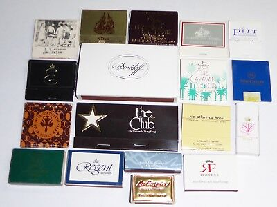 (18) 1970-80s INTERNATIONAL DIFFERENT COUNTRY MATCHBOOKS & BOXES NM-MINT UNUSED