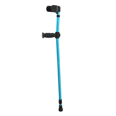Elderly Handicapped Disabled Adults Foldable Walking Forearm Crutches Stick
