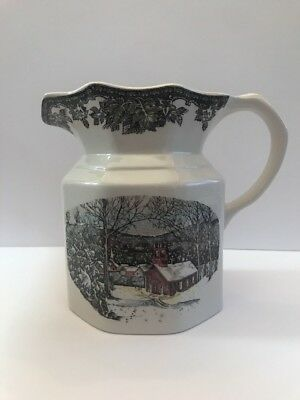 The Friendly Village Johnson Bros Brothers Large Pitcher
