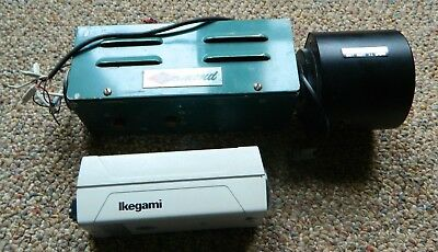 Vintage CCD Video Cameras (Ikegami & Diamond) With RCA TV Zoom Lens USED