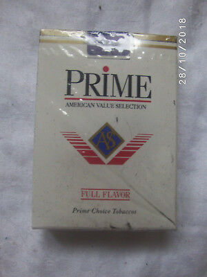 Vintage Prime Cigarettes Advertising Playing Cards Nos Aviator Brand