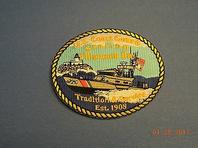 US Coast Guard Station Tillamook Bay Tradition Service USCG Military Patch #Q04
