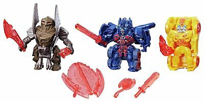 Transformers: Reveal the Shield Tiny Turbo Changers 3-Pack 6+ Years