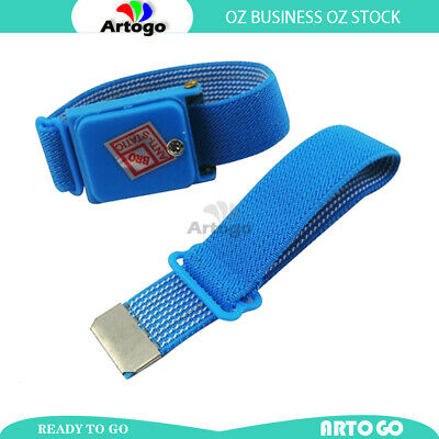 Wireless Cable-less Anti Static ESD Wrist Strap Band Prevent Shock Electricity