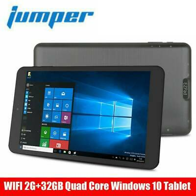Jumper 8 Zoll Tablet PC Windows 10 Quad-Core 2GB 32GB IPS Anzeige WIFI Bluetooth