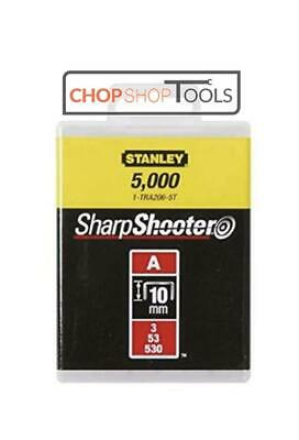 Stanley 10mm A-Type Light Duty Stapler Staples *(5000 Pieces)*  10mm 1-TRA206-5T