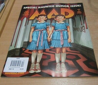 Mad magazine #4 DEC 2018 Special Haunted Humor Issue, Maria Bamford Brian Posehn
