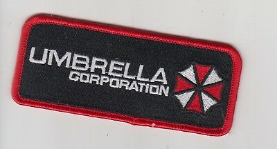Parche Resident Evil Umbrella Corporation Rectangular   Patch