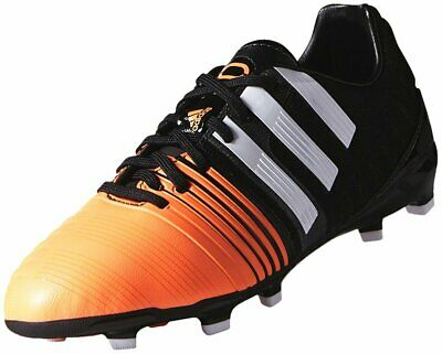 5a17fd8b86d2 adidas Boy s Nitrocharge 1.0 FG Firm Ground Football Boots Moulded Studs  Orange