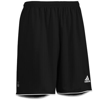 Adidas Mens Parma Football Training Shorts Black Gym Sport XS S M L XL (B Grade)
