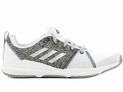 74a5d8f4ac5 adidas Women s Ariana Cloudfoam Fitness Trainers Running Shoes Gym Workout  White