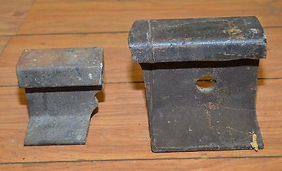Blacksmith 24 lb railroad track anvil collectible forge blade making tool lot