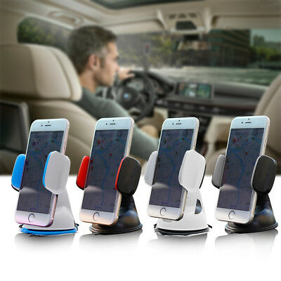 Universal Car Mobile Phone Holder Mount Windscreen Dashboard With Various Color