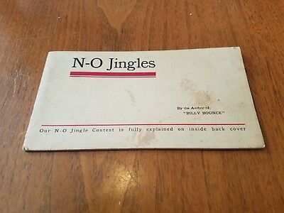 1909 NATIONAL OATS JINGLES Contest Booklet Antique Advertising