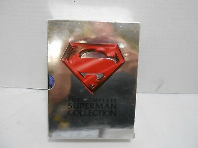 The Complete Superman Collection DVD Box Set 4 Disc 1,2,3,4