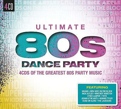 Greatest Hits From The 1980s / Eighties / Best Of 80s Dance Party NEW 4 CD SET