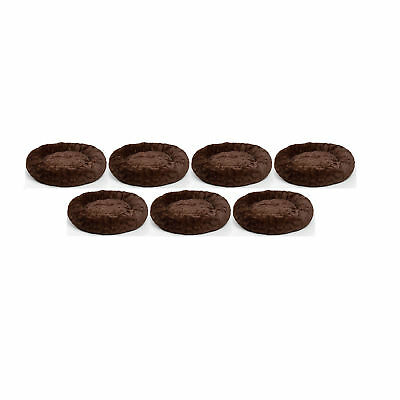 Best Friends by Sheri Orthopedic Relief Donut Cuddler Dog Bed, Brown (7 Pack)