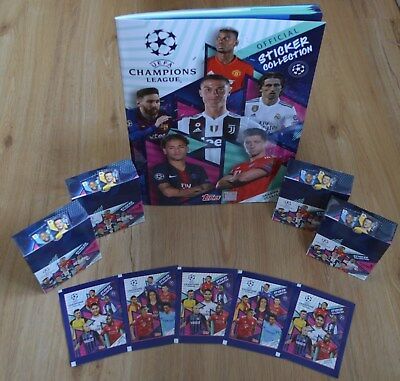 Topps Champions League Sticker 2018/2019 Album Bags Display Select 18/19