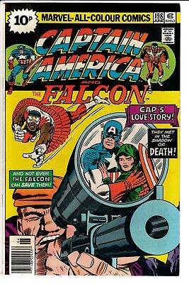 CAPTAIN AMERICA #198, PENCE COVER, KIRBY STORY & ART, Marvel Comics (1976)