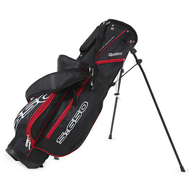 Masters S:650 Stand Bag  / Schwarz/rot