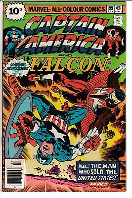 CAPTAIN AMERICA #199, PENCE COVER, KIRBY STORY & ART, Marvel Comics (1976)