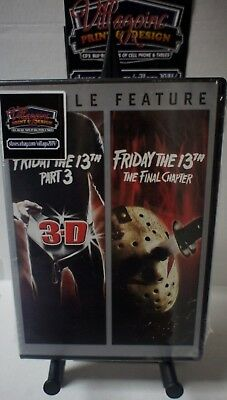 Friday the 13th Part 3 and The Final Chapter NEW DVD FREE SHIPPING!!