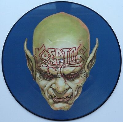 K14A	Kreator	Behind the Mirror	N 0084	German LIMITED EDITION PICTURE DISC *SALE*