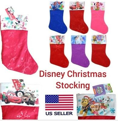 New Christmas Holiday Kids Disney Stocking Hat  Paw Patrol Mickey Mouse Frozen