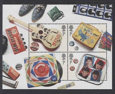 G.b. - 2007 Beatles M/s Superb Unmounted Mint(Mnh) Sg.ms2692