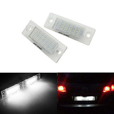 LED Licence Number Plate Light Lamp VW Caddy Passat Variant 3C Golf Plus Jetta 3