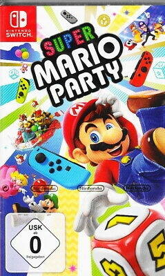 Super Mario Party - Nintendo Switch - NEU & OVP - Deutsche Version - USK 0