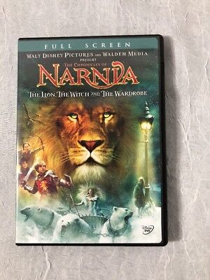 The Chronicles of Narnia: The Lion, The Witch, and the Wardrobe (DVD, 2006, Full