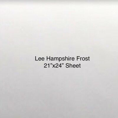 """Lee Filter 253 Hampshire Frost Diffusion 21""""x24"""" inch sheet Lighting Gel"""