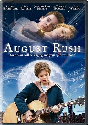 AUGUST RUSH New Sealed DVD Keri Russell Johathan Rhys Meyers