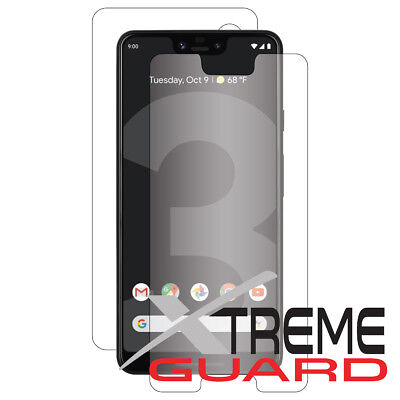 XtremeGuard FULL BODY (Front+Back) Screen Protector For Google Pixel 3 XL