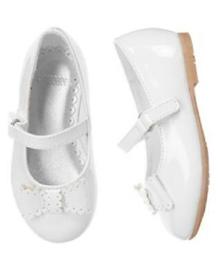 Gymboree Spring Dressy Shoes Size 7 New White Mary Jane Baby Girl New Summer