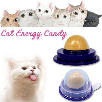 Cat Snack Catnip Candy Licking Solid Nutrition Energy Ball Kittens Toy Healthy