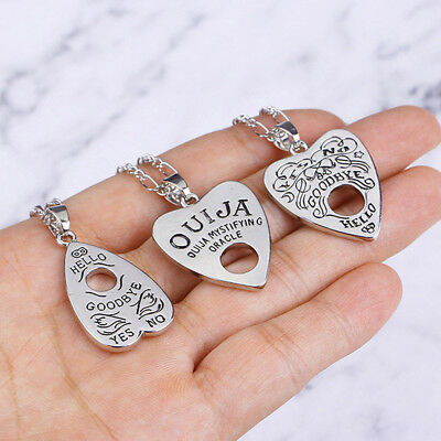 Antique Vintage  Punk Gothic Ouija Board Pendant Necklace Jewelry Halloween Gift