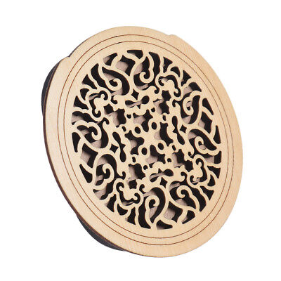 Lute Hole Soundhole Cover Guitar Feedback Buster Pattern D B0Q9