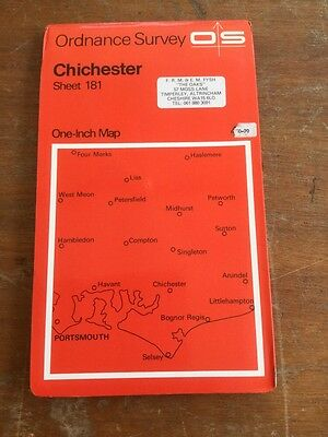 Ordnance Survey Chichester Sheet 181