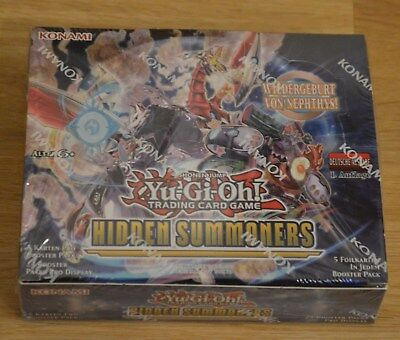 Yu-Gi-Oh! Hidden Summoners 24 Booster Display Deutsch 1. Auflage Neu & OVP