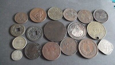 JOB LOT OF INTERESTING OLD COINS  99p B1023