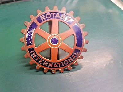 Plate Car Rotary International
