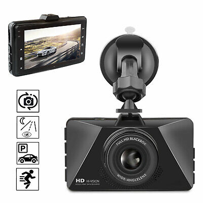 "3"" Vehicle 1080P Car Dashboard DVR Camera Video Recorder Dash Cam G-Sensor"
